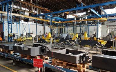 Visite de l'usine Yanmar de Crailsheim en Allemagne
